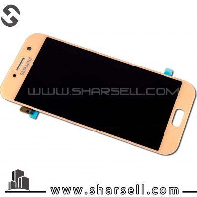 LCD SAMSUNG a520 orginal Gold-ال سی دی سامسونگ اصل شرکت آ520